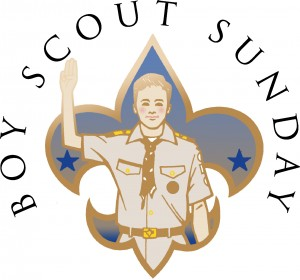 Scout Sunday @ St. Margaret's
